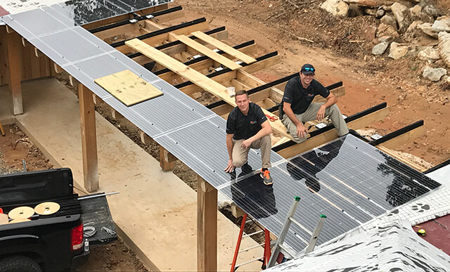 Solar Installation in GA